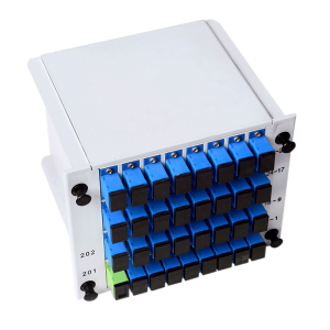 Optical Splitter 1X32 LGX Single Mode PLC Splitter