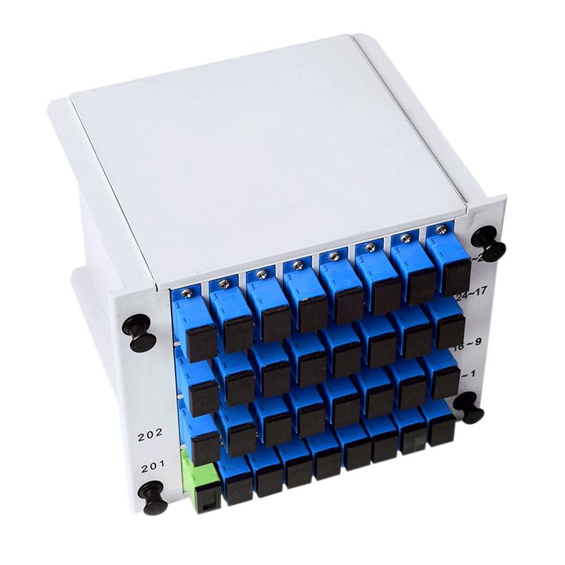 Optical Splitter 1X32 LGX Single Mode PLC Splitter
