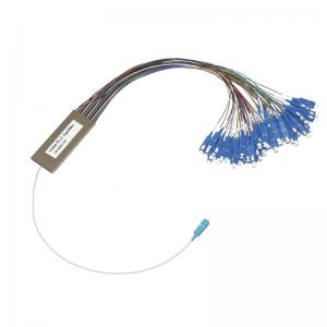 PLC Splitter 1x64 Single Mode Blockless PLC Fiber Optic Splitter