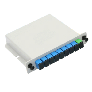 Optic Fiber Splitter 1X8 LGX Single Mode PLC Fiber Optic Splitter with SC FC Connection